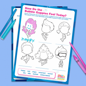 All the Feelings Bubble Guppies Activity Pack