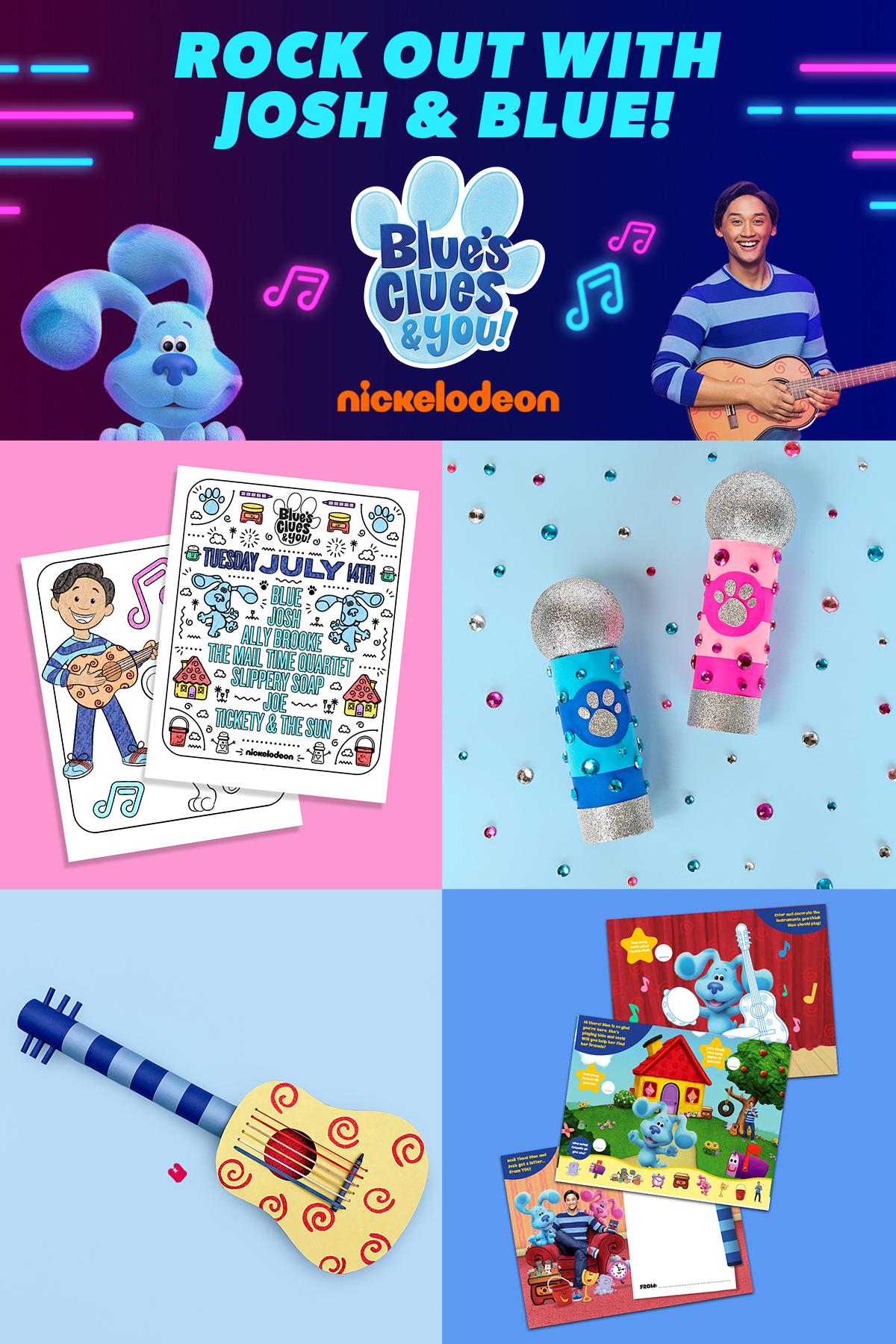 Blue's Clues Music Content