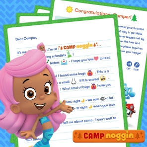 Camp Noggin: Be a Scientist!