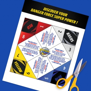 Danger Force Cootie Catcher
