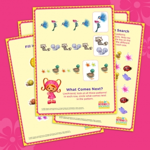 Milli's Printable Patterns Booklet