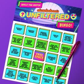 Unfiltered Bingo
