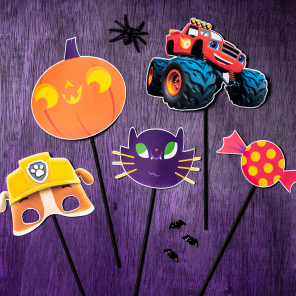 Printable Halloween Photo Props