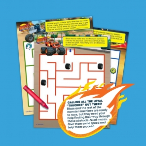 Blaze Maze Activity Pack