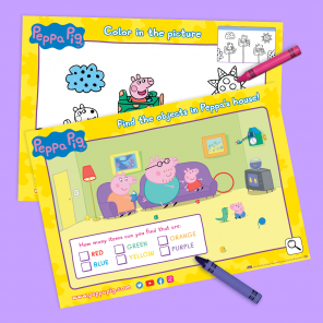 Printable Adventures with Peppa