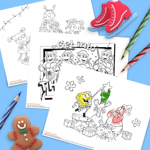 Deck the Halls with This Holiday Coloring Pack