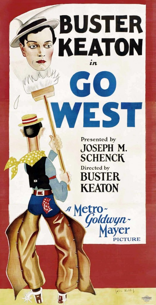 Poster - Go West (1925)_01