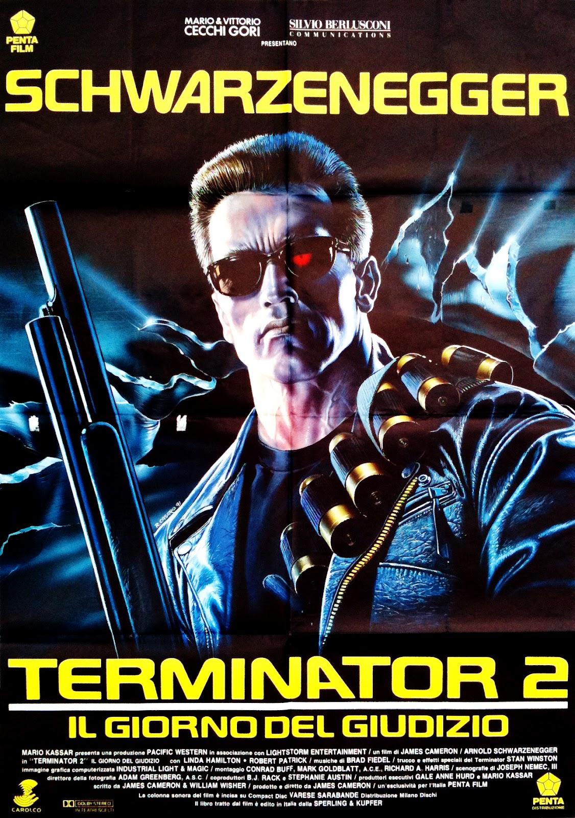 Terminator 2 (1991) Italy by Renato Casaro