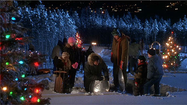 03 sled - Christmas Vacation Scenes