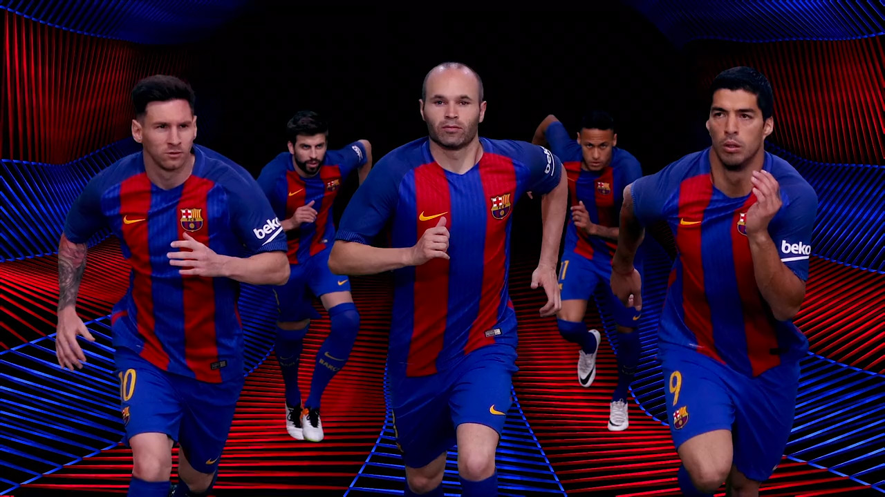 Fcb Training Top 3rd 16