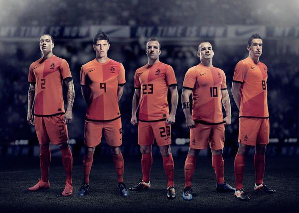 The Netherlands 2012 National Team Home Kit