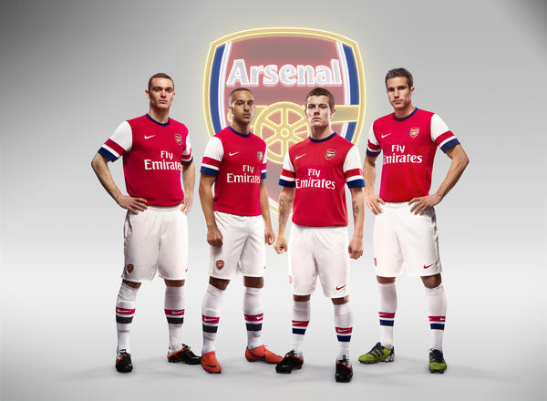 Nike Football Unveils Arsenal Home Kit for Season 2012/13