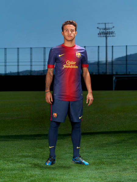 Nike Football Unveils Barcelona Home and Away Kits
