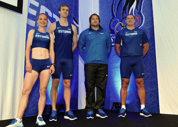 Nike Unveils Estonian Track and Field Uniforms and Medal Stand Apparel