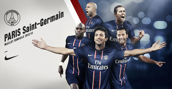 Nike Football Unveils Paris St-Germain Home Kit for Season 2012/13