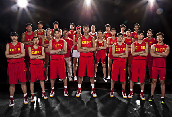 Nike Uniforms for Chinese Athletes