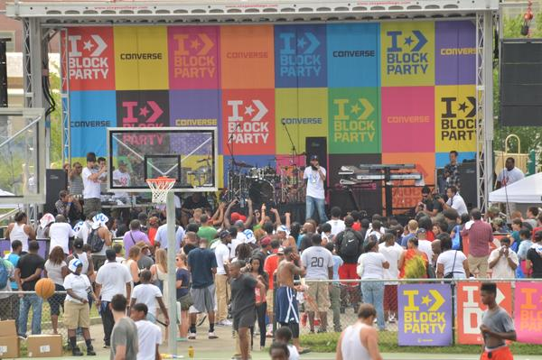 Converse Block Party Held During World Basketball Festival 2012