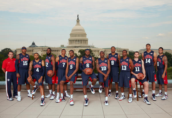 USA Men's and Women's Basketball Teams Photographed at Nike WBF