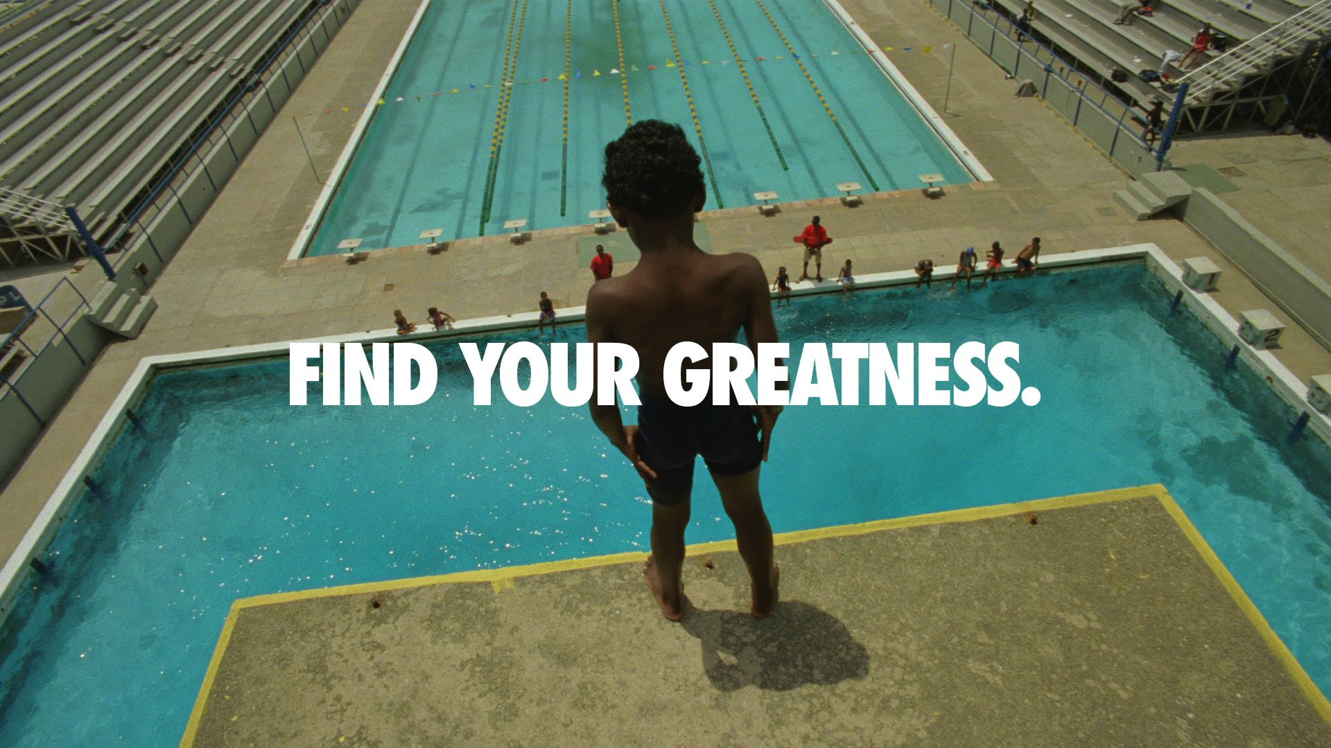 """Nike Quotes Greatness Nike Launches """"Fi..."""
