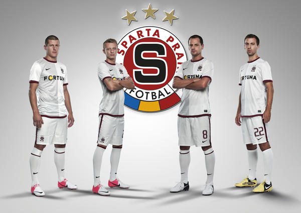 Nike presents AC Sparta Prague collection for 2012/13