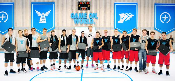 Dirk Nowitzki joins Nike+ Basketball Berlin 5 on 5