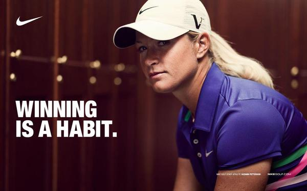 Nike Athlete Suzann Pettersen secures back-to-back wins