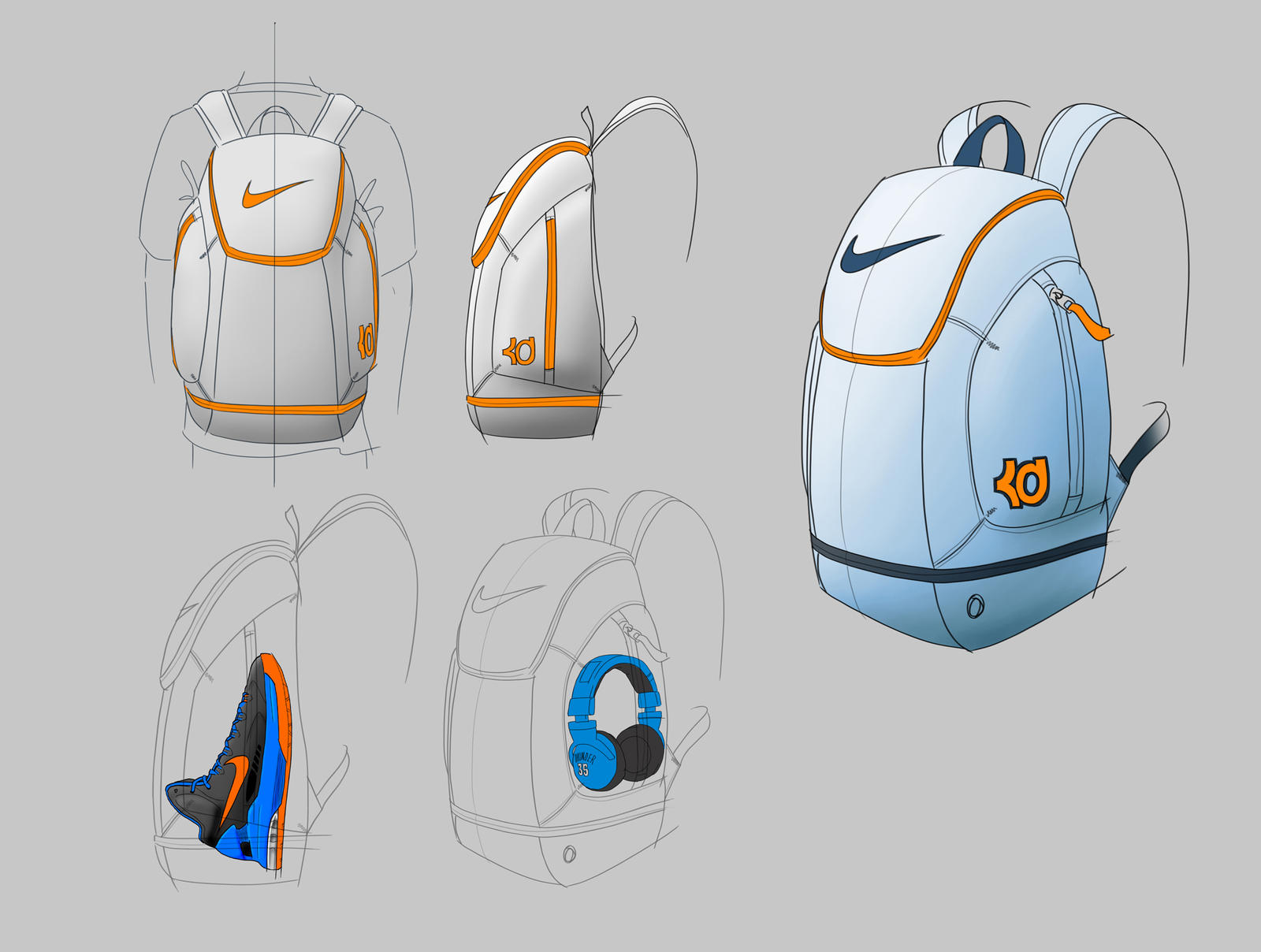 Inside Access: Kevin Durant's backpack revealed - Nike News