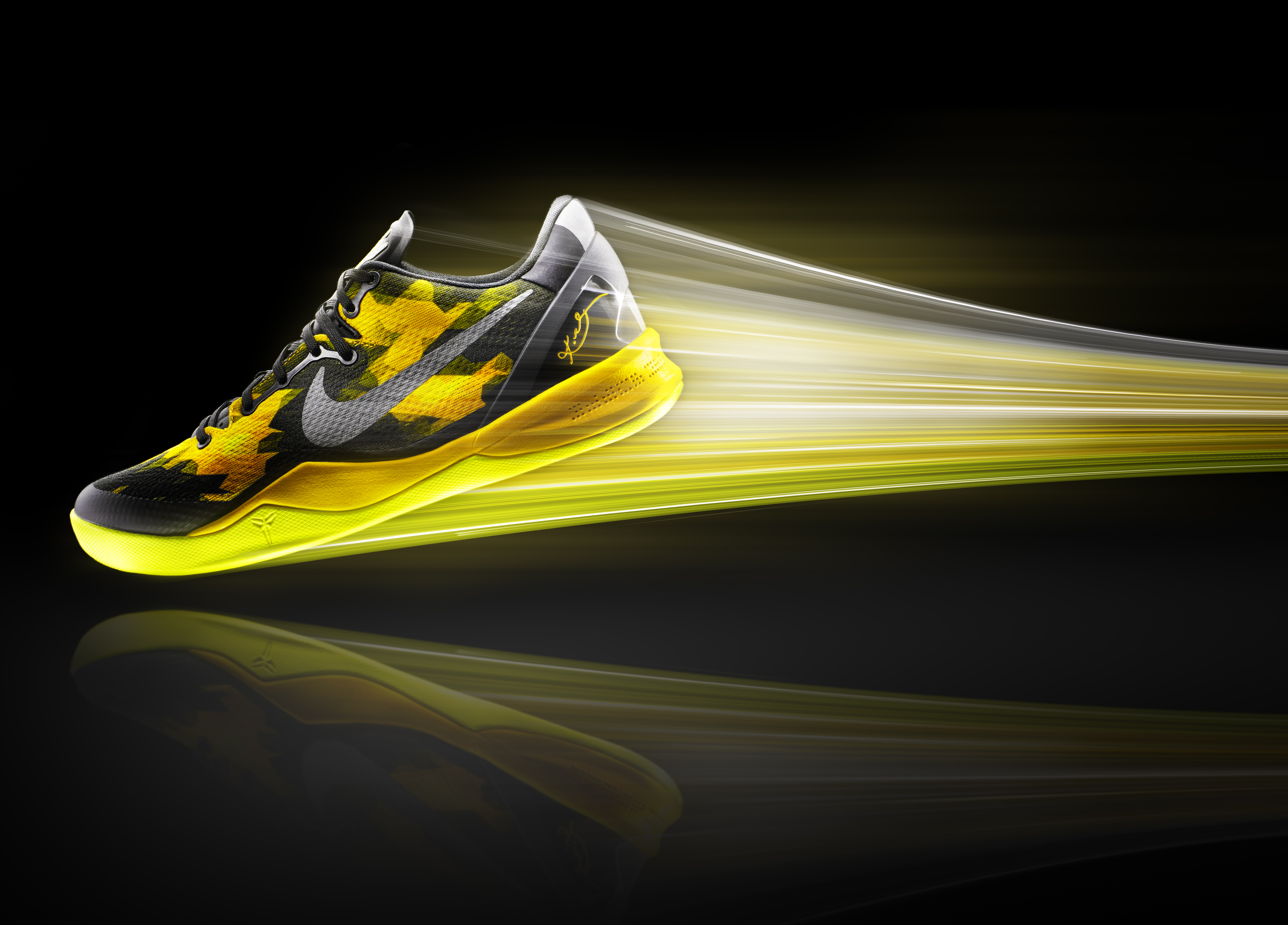 LO · HI. Nike unveils the KOBE 8 SYSTEM. Download Image: