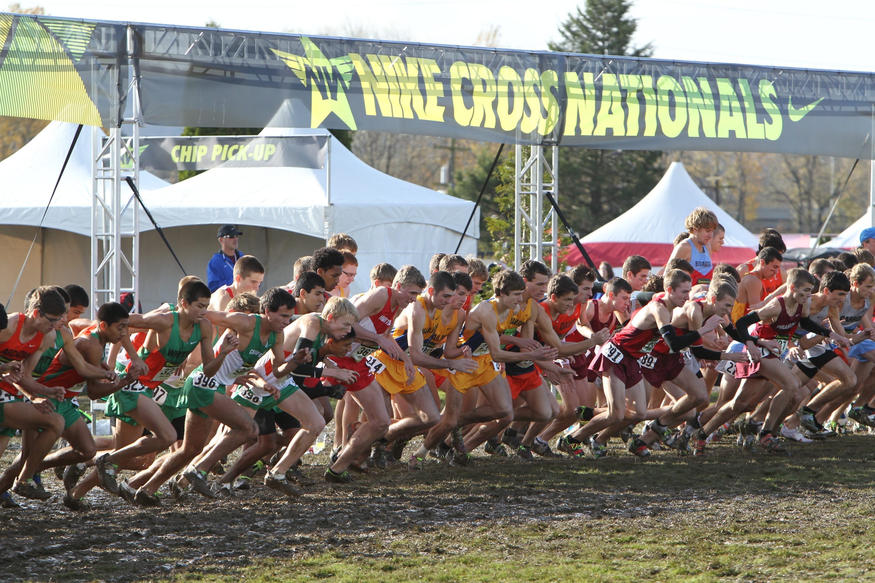 Nike Cross Nationals 2013 Boys Championship Race