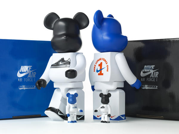Nike and MEDICOM TOY celebrate with a collective of collectibles