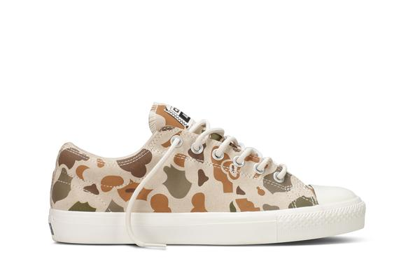 Converse launches the Camo Suede CTS