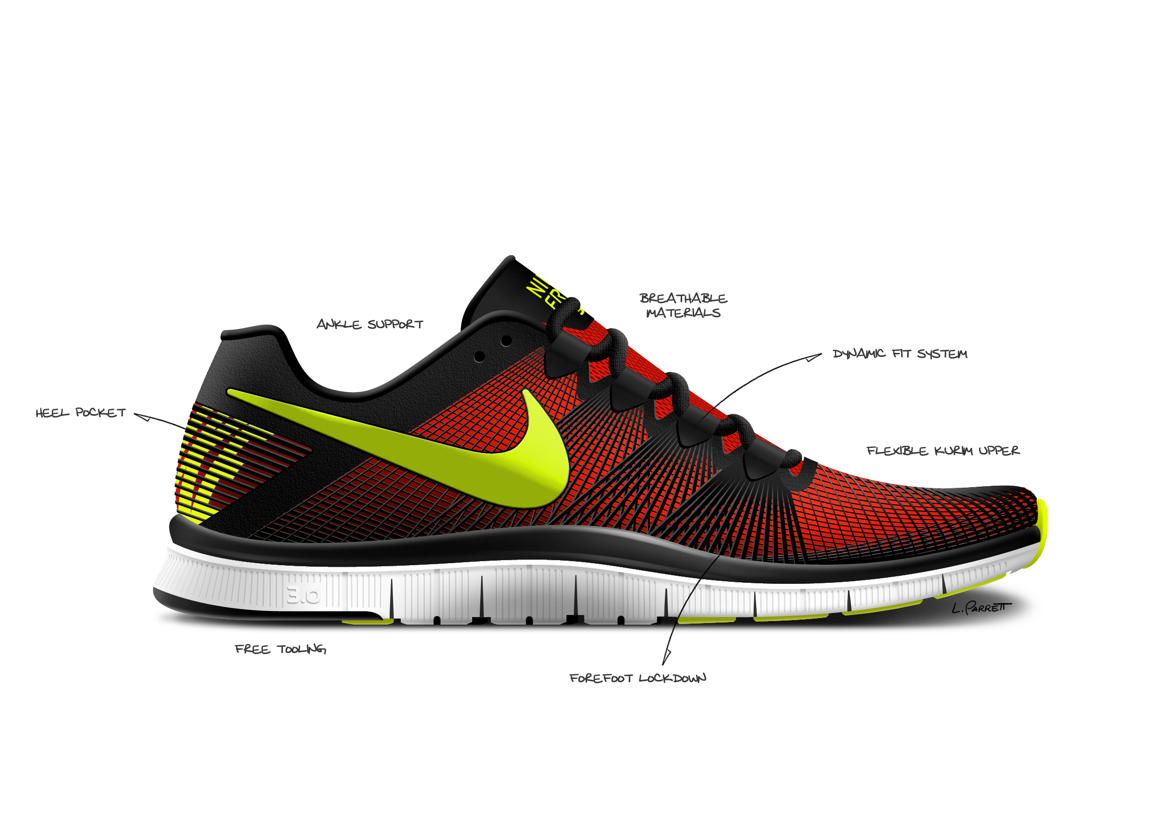 Nike Free 5.0 Bunt