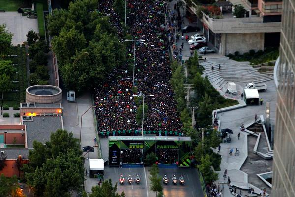 In the final race of Nike's biggest series, We Run Santiago celebrates running with 9,000 participants
