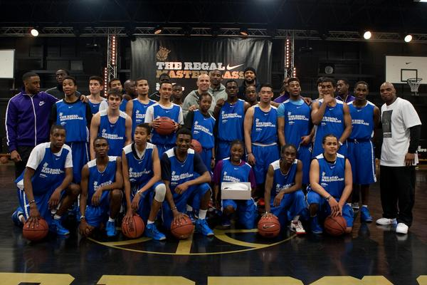 Amar'e Stoudemire, Jason Kidd and Tyson Chandler host master class in London