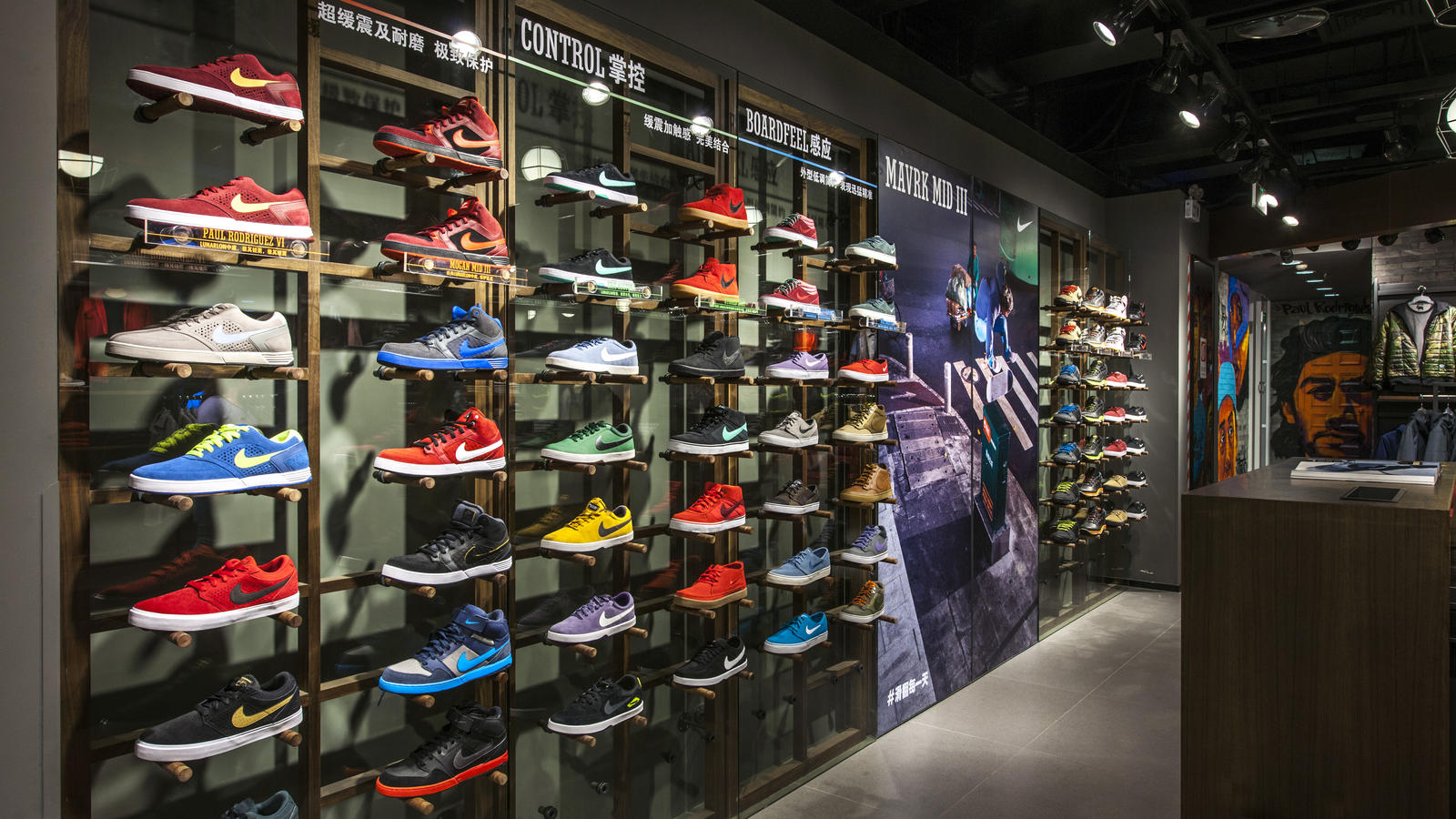 nike news nike s largest sports store in greater