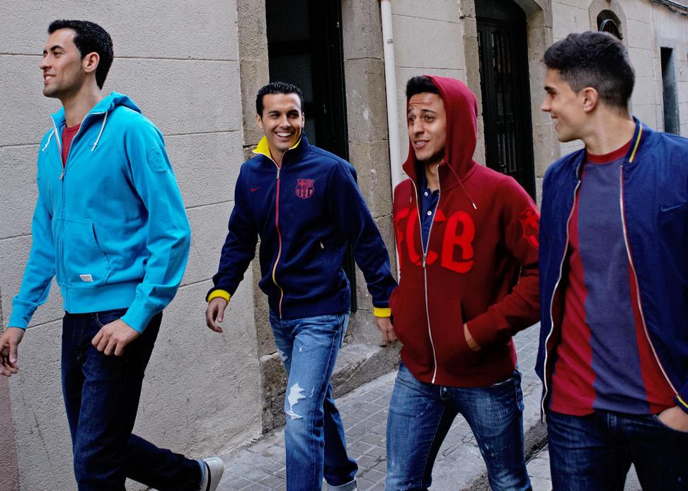 Colección Nike ropa vestir FC Barcelona 2013