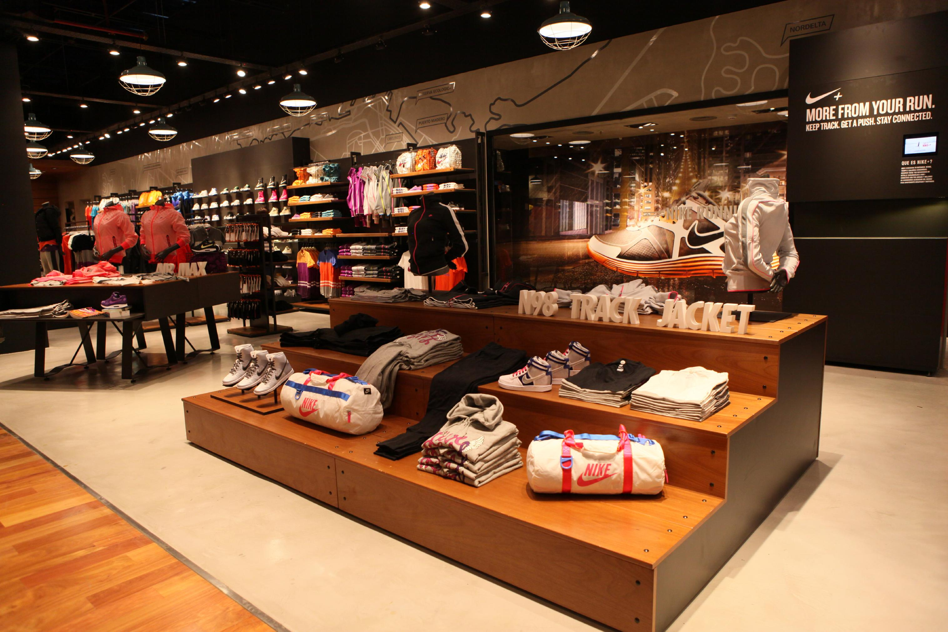 nike store in argentina earns gold leed certification nike news. Black Bedroom Furniture Sets. Home Design Ideas