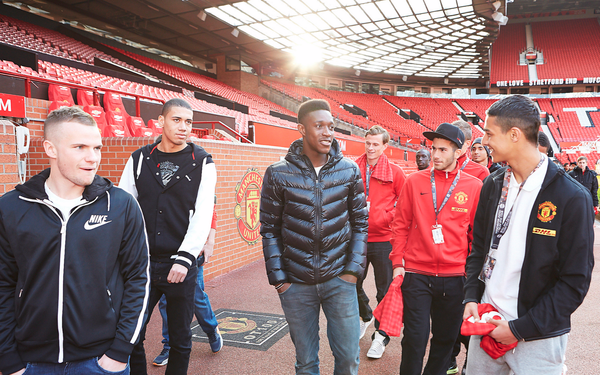 Nike Football's The Chance Global Tour Stops in Manchester