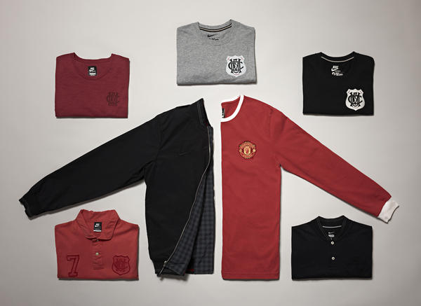 Manchester United Sportswear Collection inspired by legendary No. 7s