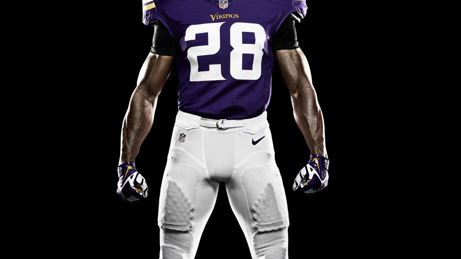Jerseys NFL Wholesale - Nike News - Minnesota Vikings and Nike Unveil New Uniform Design ...