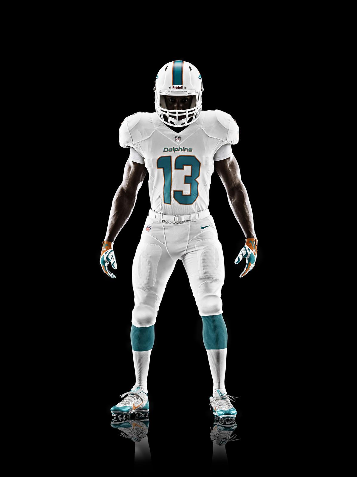 Miami Dolphins Unveil New Uniform Design For 2013 Season