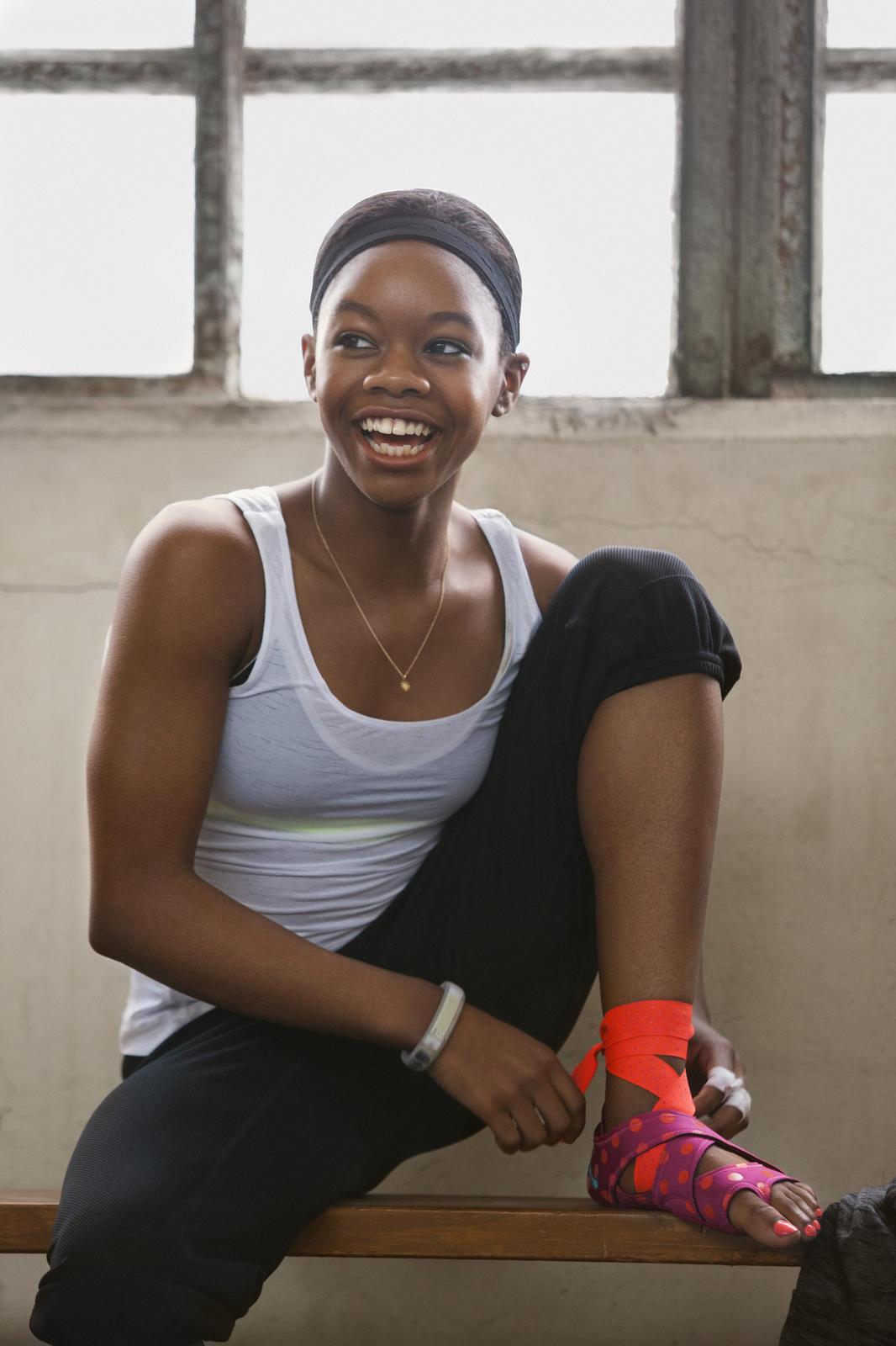 Get Going With Gabby Douglas S New Nike Training Club