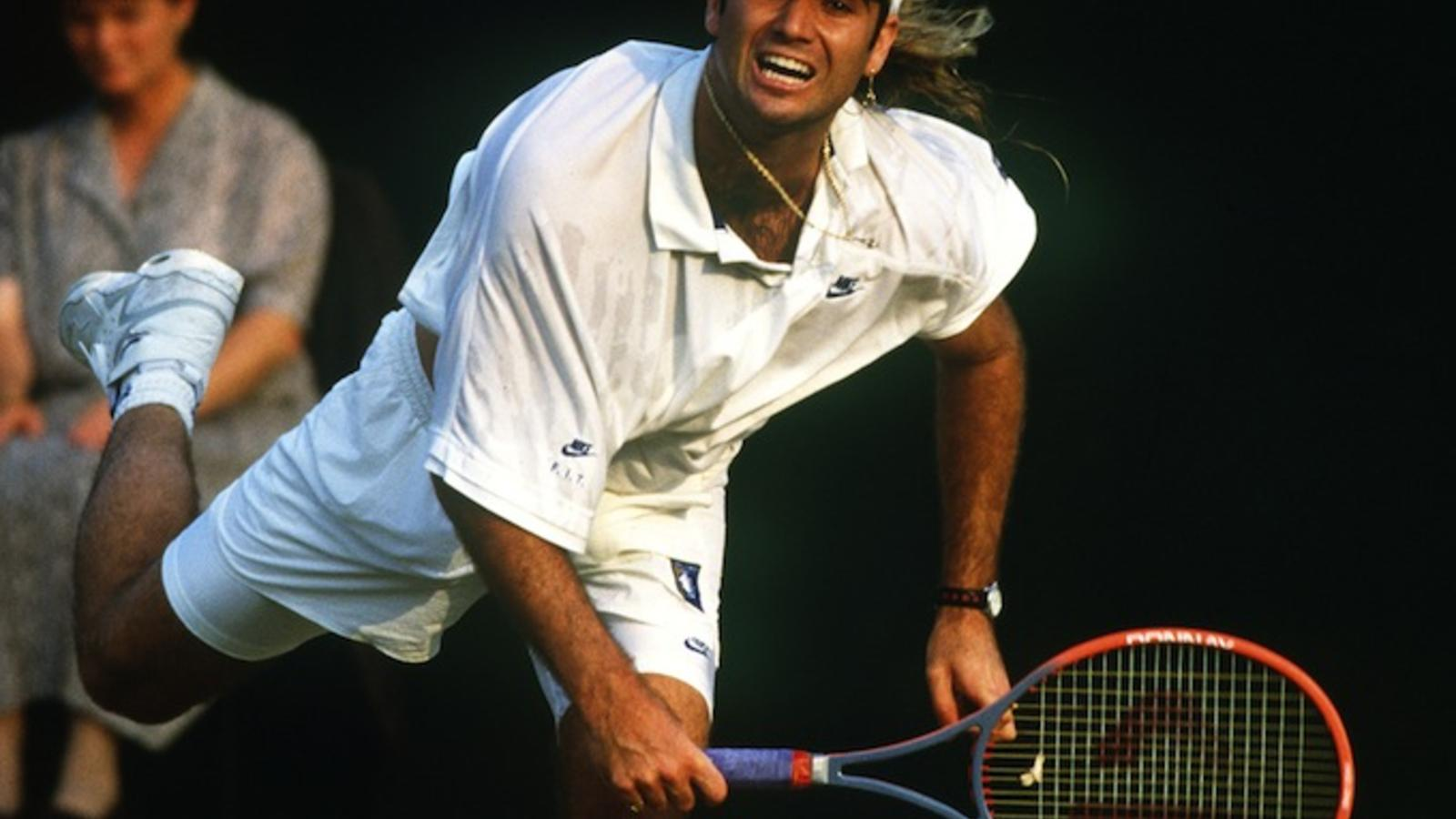 Nike News - Tennis Icon Andre Agassi Rejoins Nike