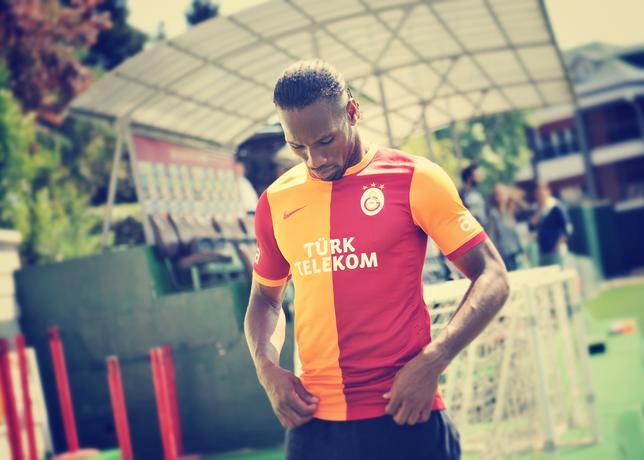 Galatasaray thuisshirt 2013-2014 Drogba