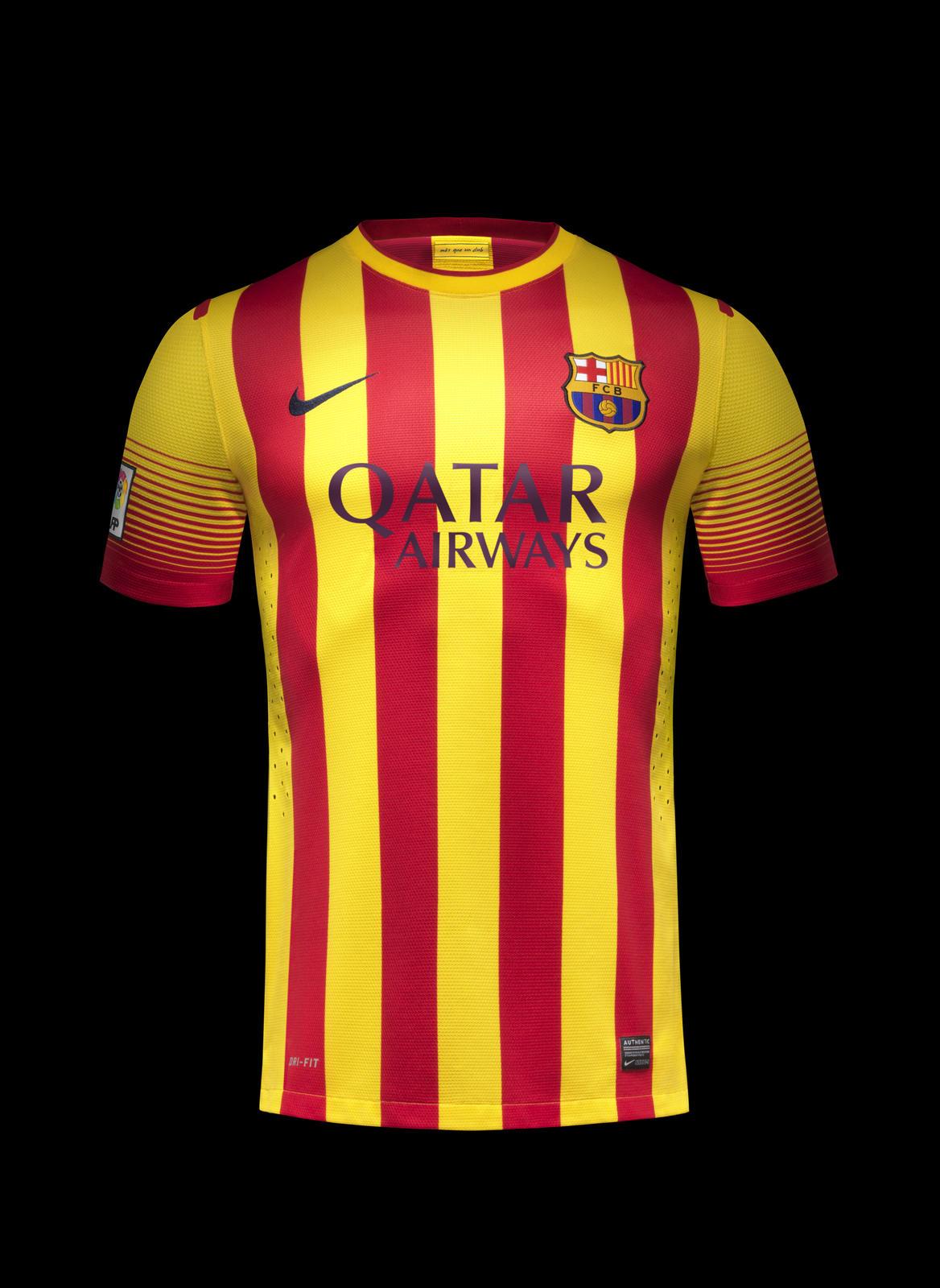 Nike unveils new fc barcelona home and away kits nike news - New home barcelona ...