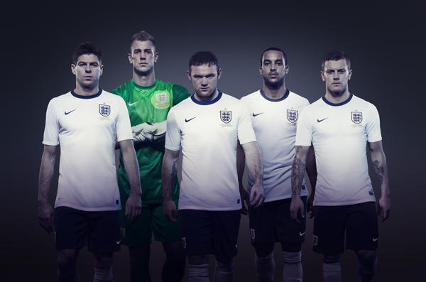 Nike unveils new England Home Kit