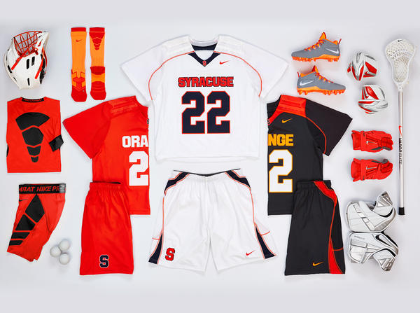 Nike Collegiate Lacrosse Teams Outfitted in Unique Innovative Uniforms