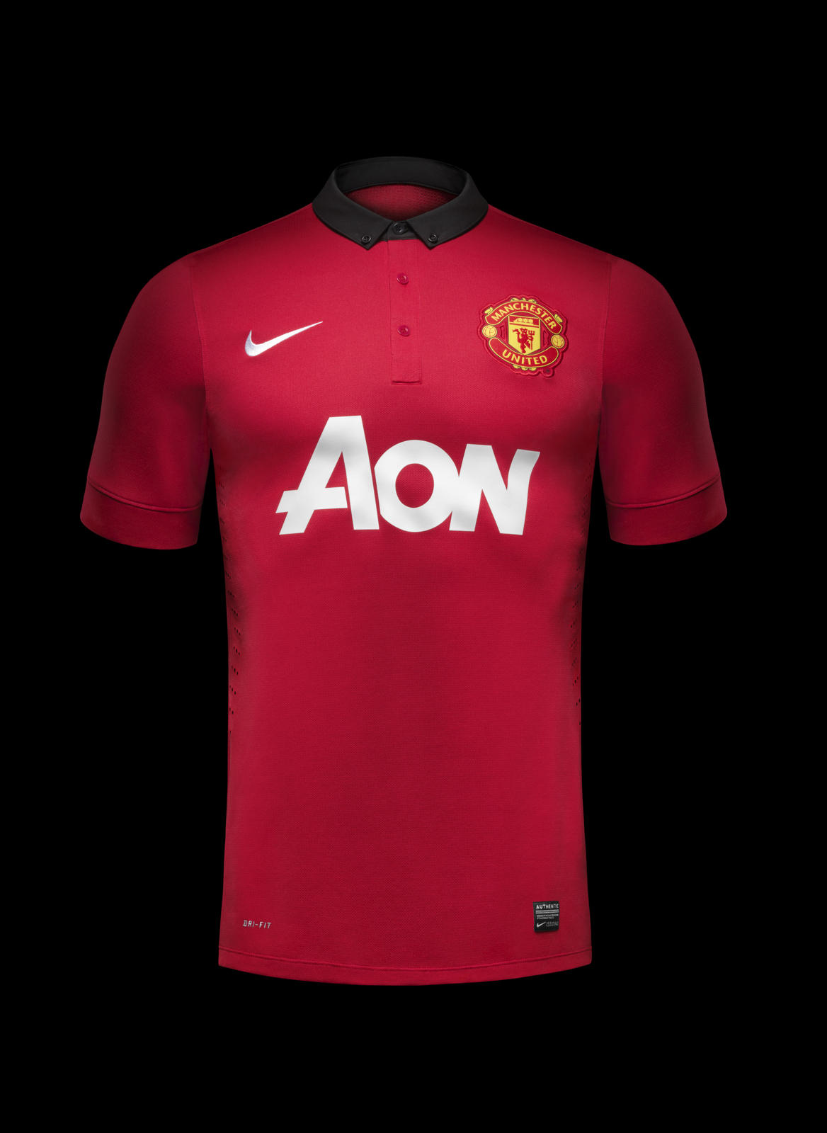 nike unveils manchester united home kit for 201314 nike