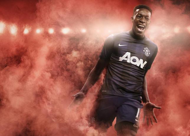 Manchester United uitshirt 2013-2014