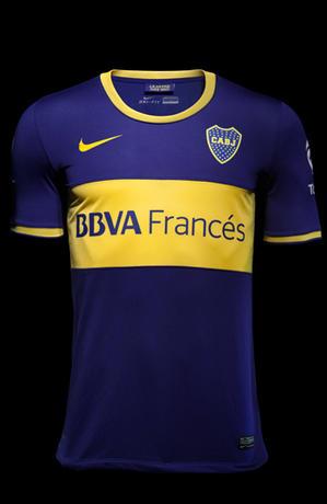 Boca Juniors thuisshirt 2013-2014